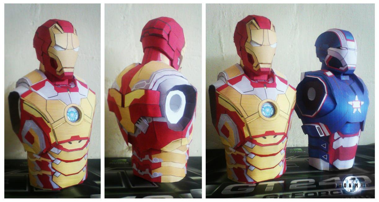 Iron Man Mark XLII Papercraft by suraj281191