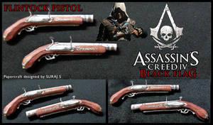 Flintock Pistol -Assassin's Creed 4 papercraft pdo