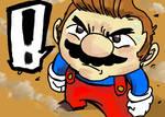 Determined Mario