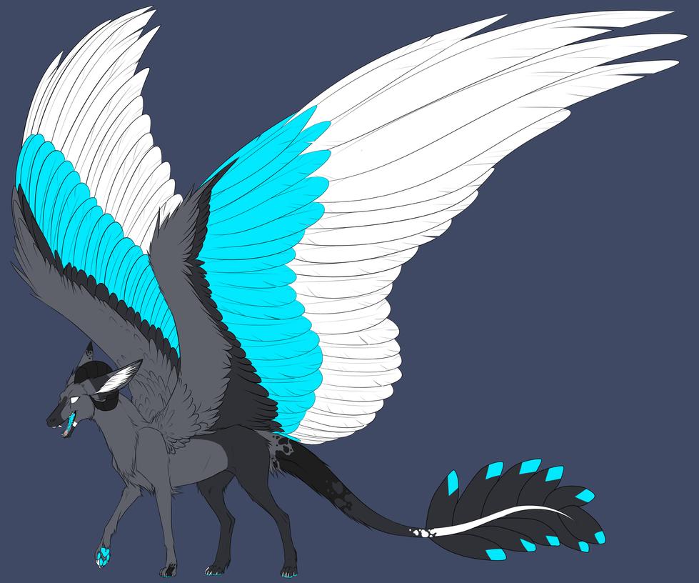 Angel Dragon: Lumi The Dutch Angel Dragon! (feral Form) By