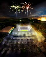 Stadium in Prishtina by ylimani