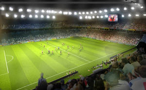Stadium in Prishtina2 by ylimani