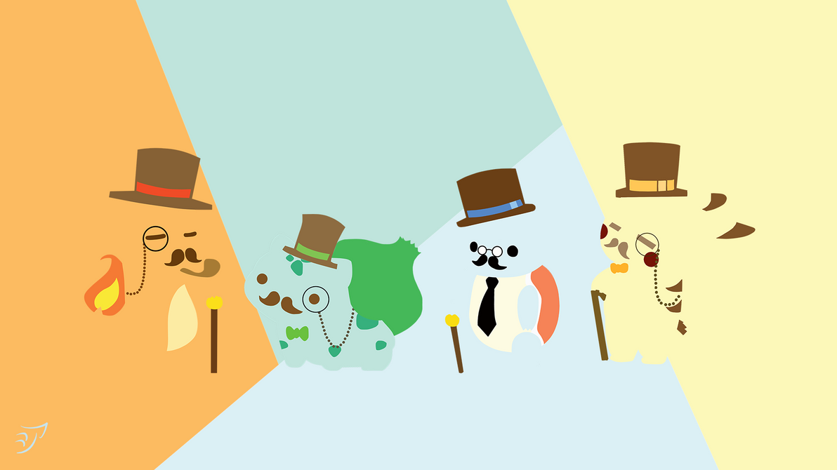 Pokemon Gentleman - minimaliste by AreXinK