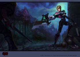 Crimson Elite Riven by isso09