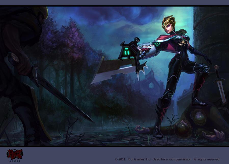Crimson Elite Riven by isso09 on DeviantArt