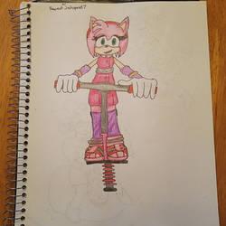 Amy's pogo stick