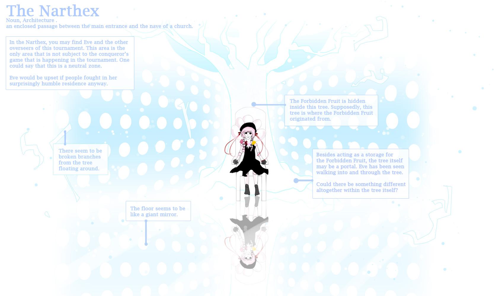 Eden: The Narthex by Iris-Angelus