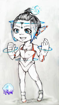 [COMM] Chibi Ink Sample