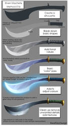 Elven Blade 01b by IRealTidyDesignI