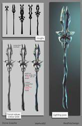 Method 02 Stone Sceptre by IRealTidyDesignI