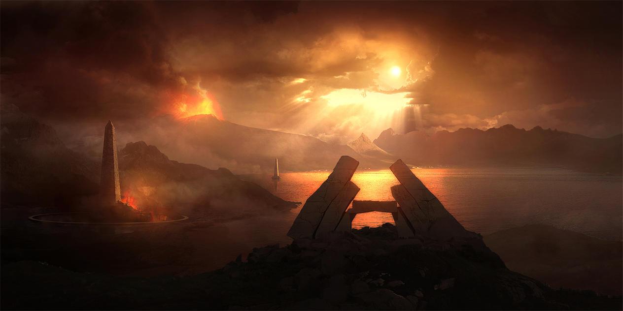 The Burning Shores by SamODJ