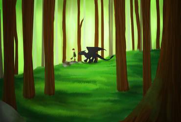 A Stroll-HTTYD by YaneYing