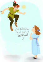 Peter and Wendy by YaneYing