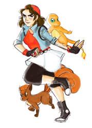 PokemonGo Persona by YaneYing