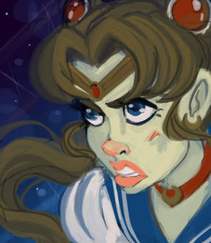 Sailor Moon Speedpaint