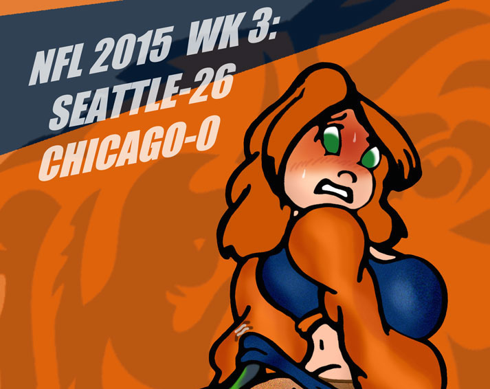 NFL 2015 WK3: SEAHAWKS VS. BEARS! by Rerwin