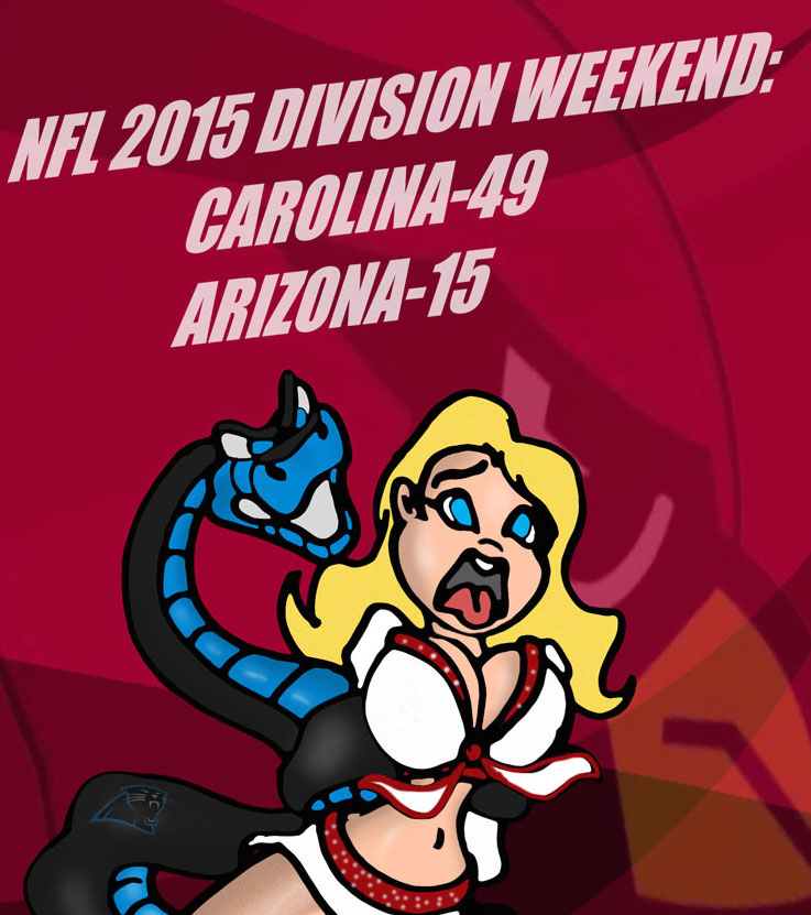 NFL 2016 CHAMPIONSHIP WEEKEND: PANTHERS VS. CARDS! by Rerwin