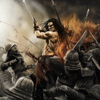[Digital Painting] Conan the Barbarian by Phomograph