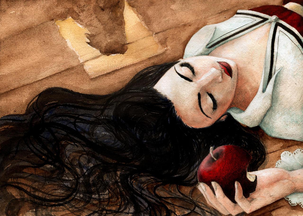 Snow White by llewllaw