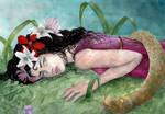 the death of Eurydice