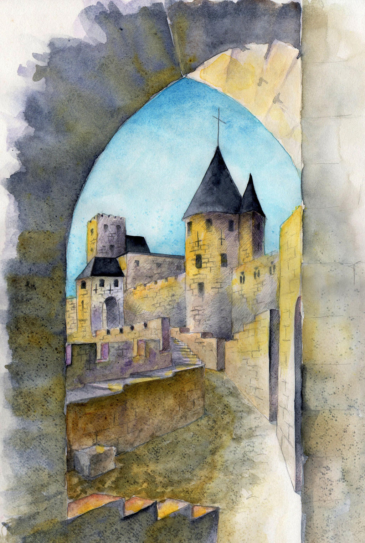 carcassonne by llewllaw on deviantart. Black Bedroom Furniture Sets. Home Design Ideas