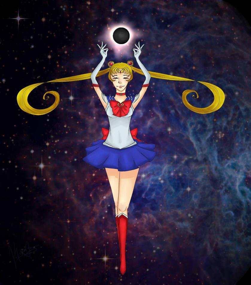 Lunar Eclipse - Sailor Moon by Konataluv
