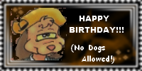 Happy Birthday Badgery: Pete1672
