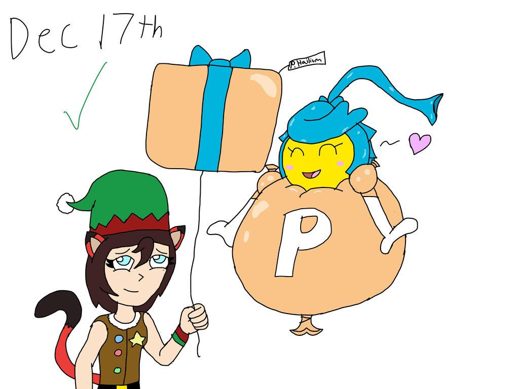 Dec. 17th: Reimarisakuya's Gift! By MaximumFlyer64 On