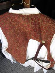 steampunk vest back