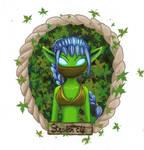 Skylanders portraits1: Stealth Elf
