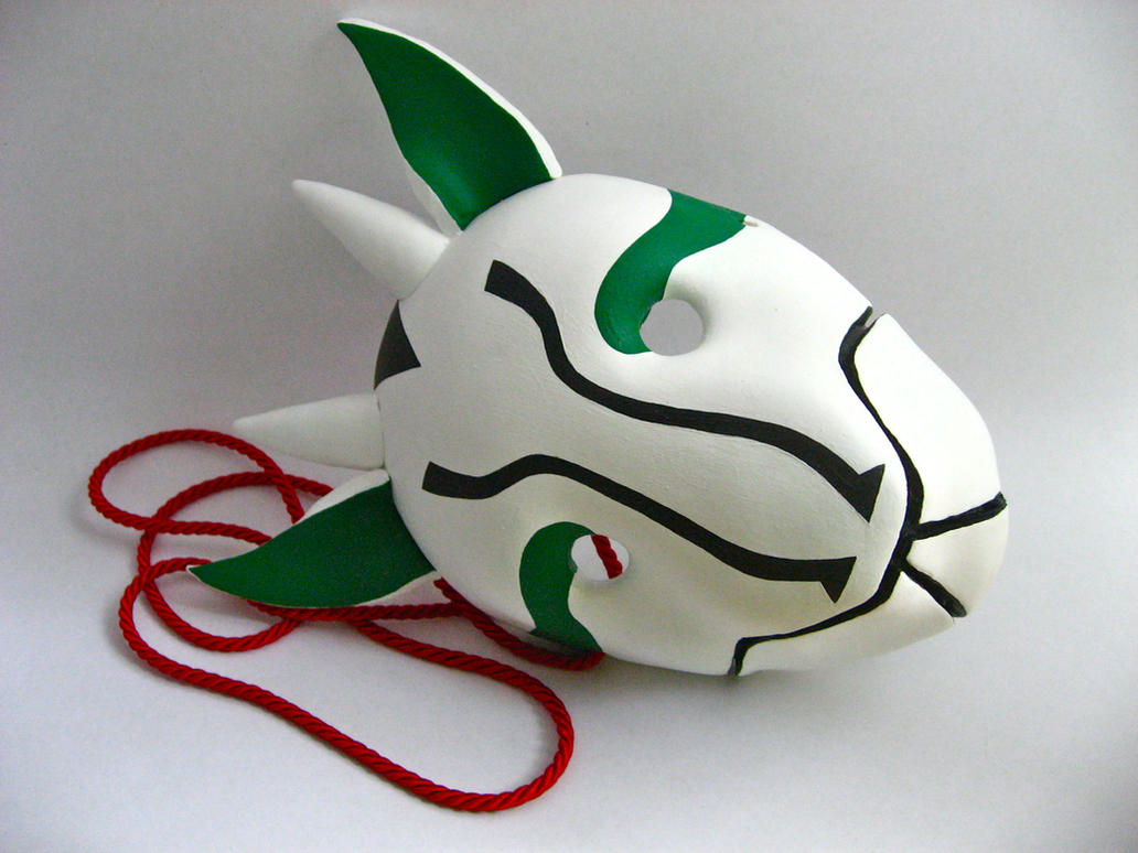 Nara Shikamaru Anbu Mask by sparr0 on DeviantArt