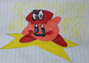 Kirby Captured by Mario (FULLY COLORED)