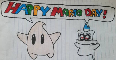 Happy MAR10 Day! by FoxaBeeNeeOwnYes