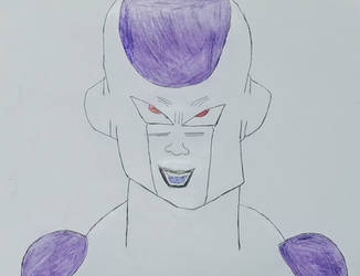 A drawing of Frieza