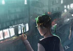 stupid f*cking rain - oc by nc2311