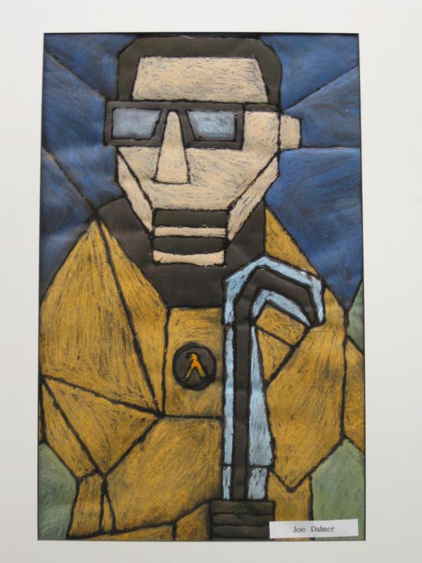 Gordon Freeman-  chalk pastels by Captainface