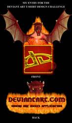 Dragon Fire Tee Close-Up