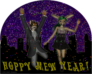 Hoppy Mew Year