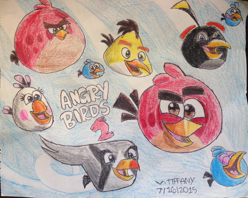 angry birds 2 by angrybirdstiff on deviantart. Black Bedroom Furniture Sets. Home Design Ideas