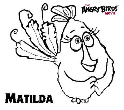 free birds coloring pages movie - photo#18