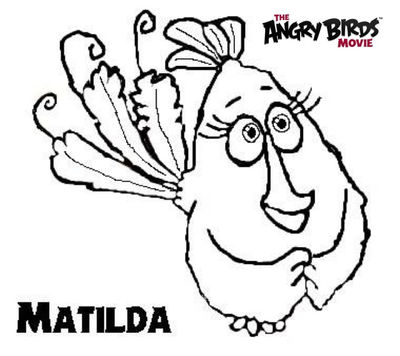 Waltzing Matilda: Coloring Pages | 356x400
