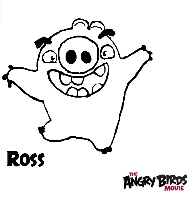 The Angry Birds Movie Coloring Pages
