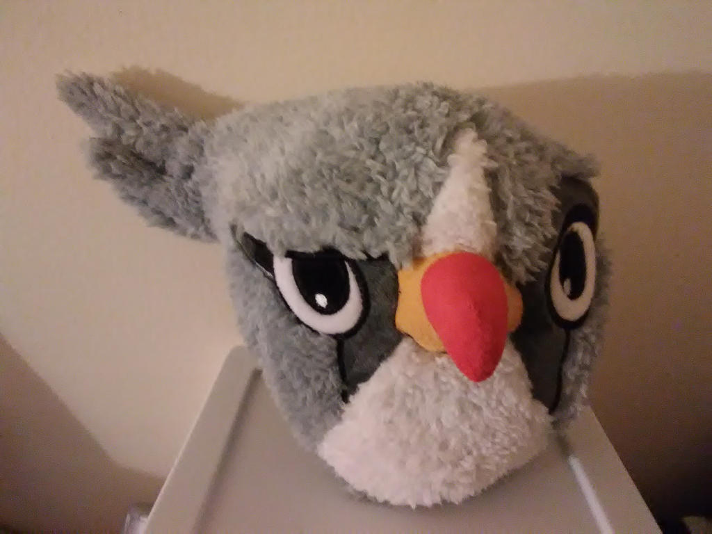 Silver Plush Toy By Angrybirdstiff On Deviantart