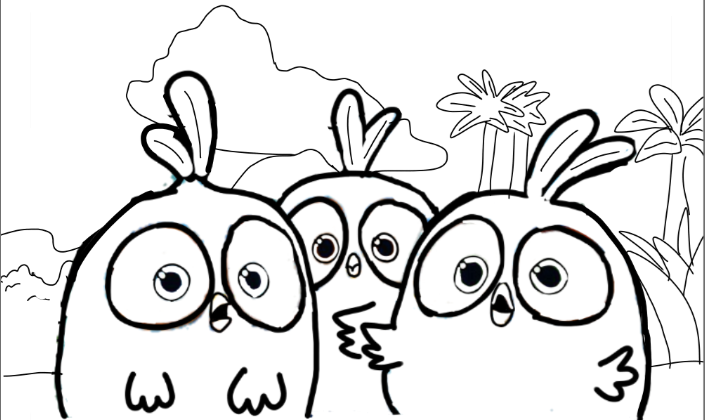 Angry Birds Blues Coloring Page #2 by ANGRYBIRDSTIFF on ...