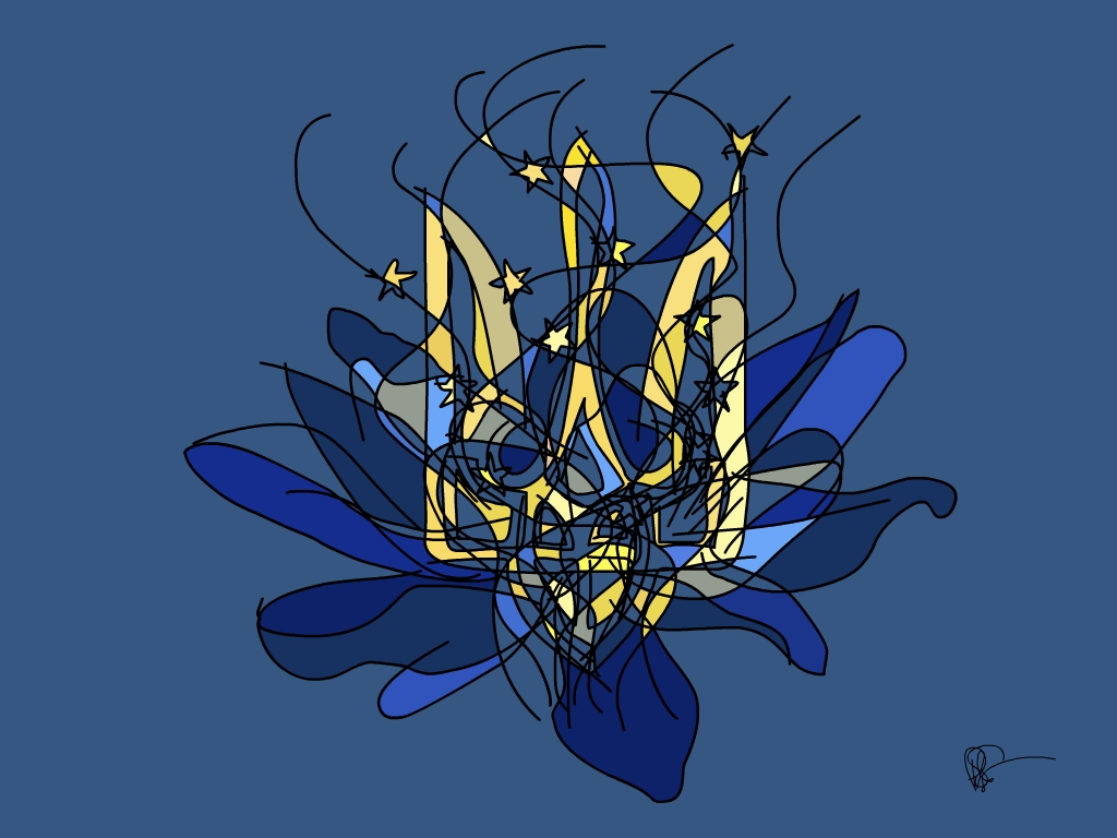 Blooming Flower Of Ukraine by PAHalny