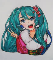Hatsune Miku by LPAki