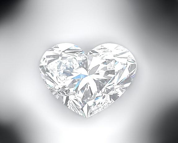 Diamond Heart by DiamondAngelKharis