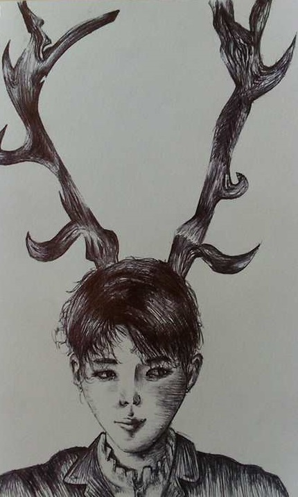 Kim Namjoon (Rap Monster) BTS by Revcia