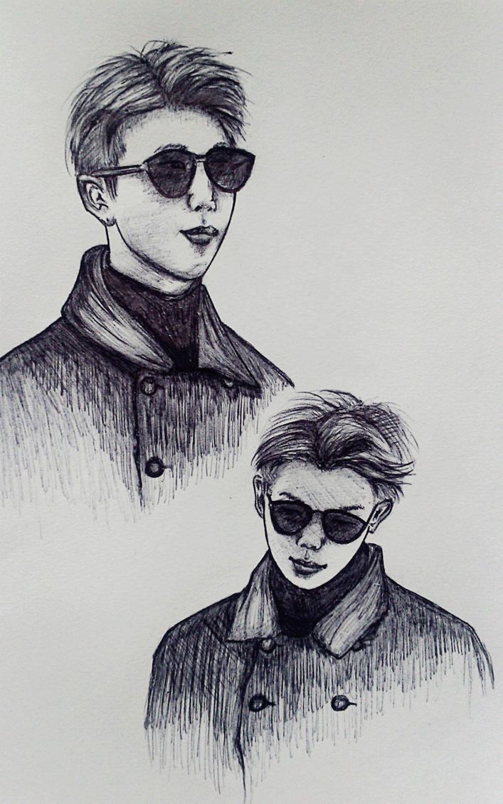 Kim Namjoon (RM) BTS by Revcia