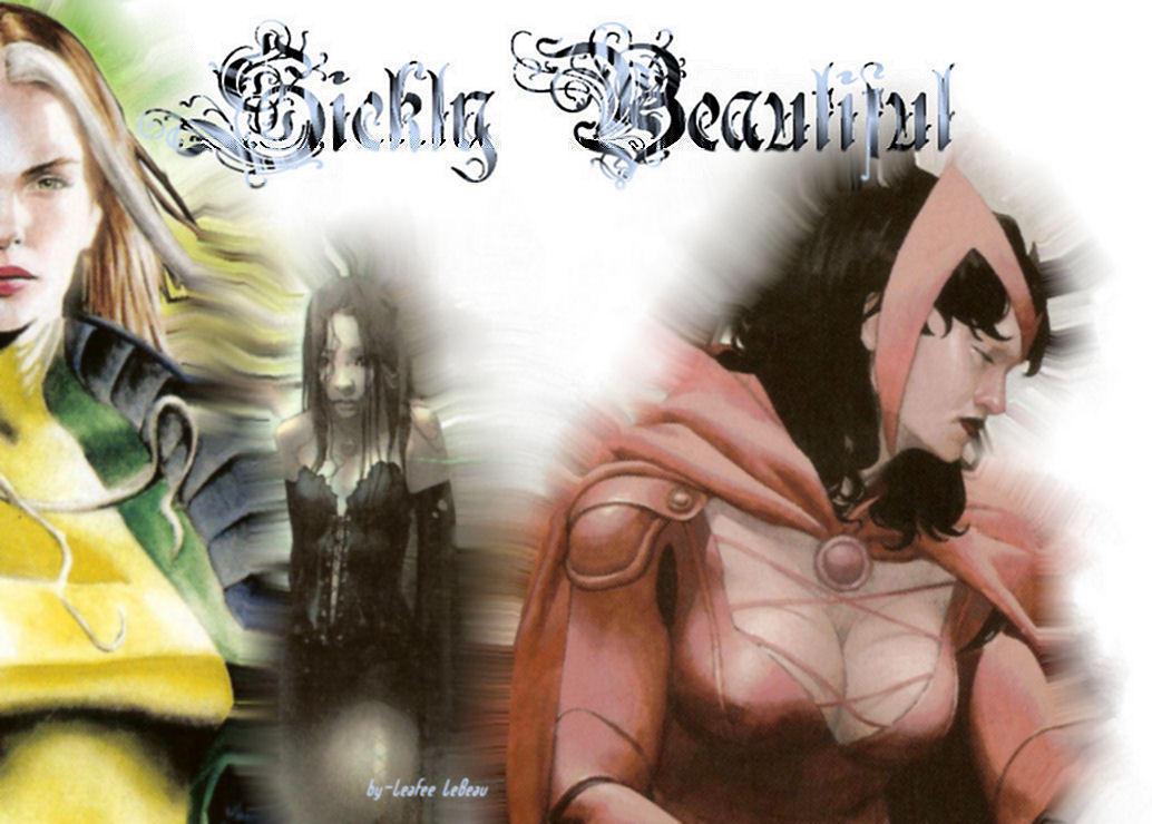 Rogue, X-23, Scarlet Wtich by LeafeeLeBeau